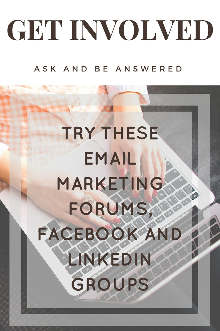 email marketing forums and groups