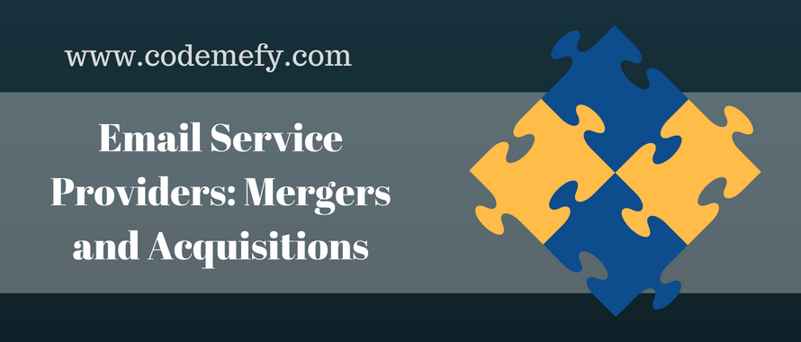 email service providers history mergers and acquisitions