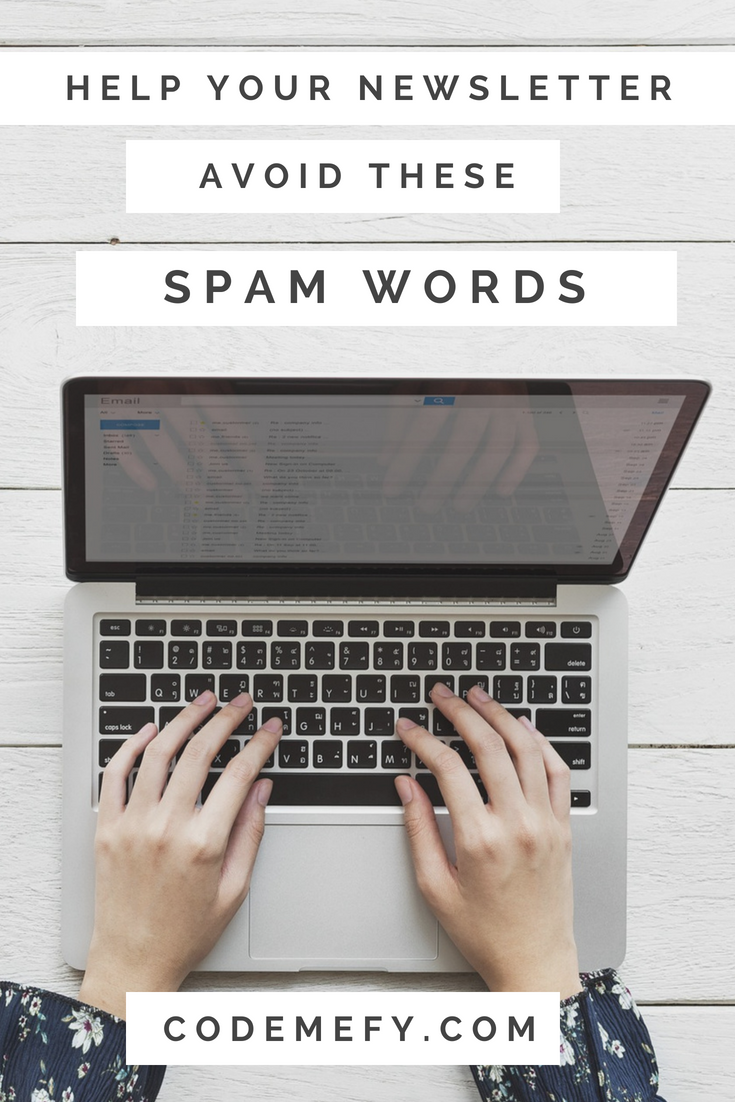 Spam words to avoid
