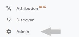 Step 1 Google Analytics into WordPress - find admin area