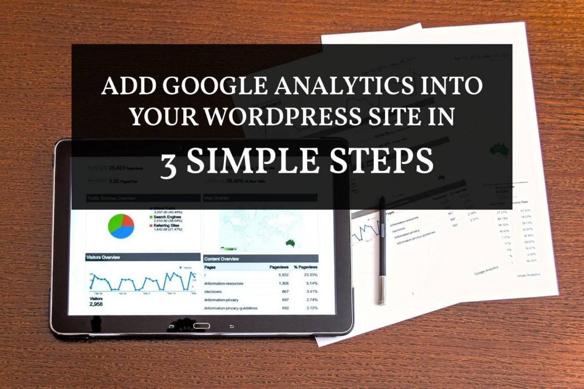 Add Google Analytics into Wordpress without a plugin